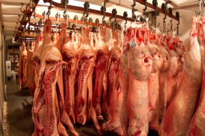 Hog Carcasses, Slaughter, Slaughter facility