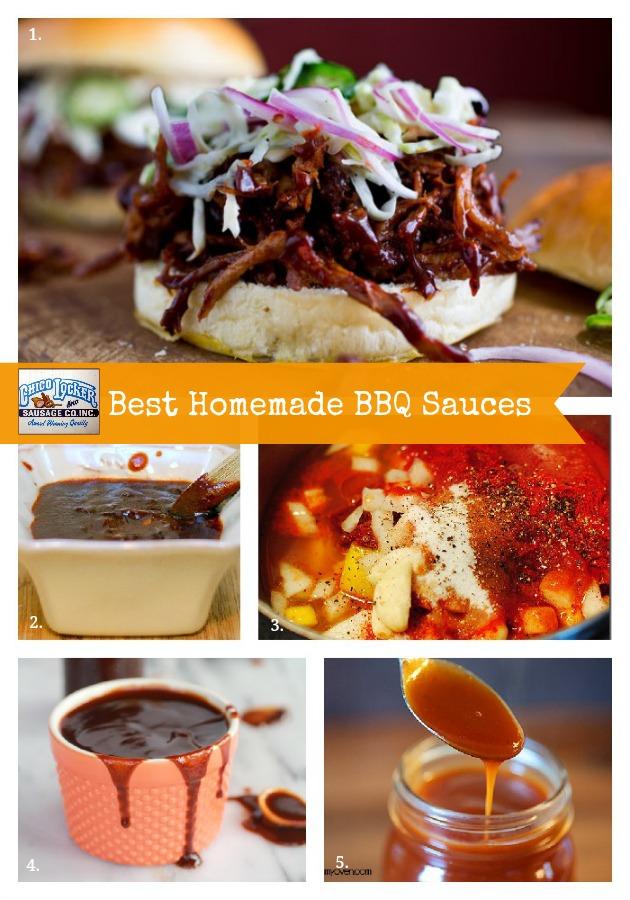 BBQ Sauce Collage